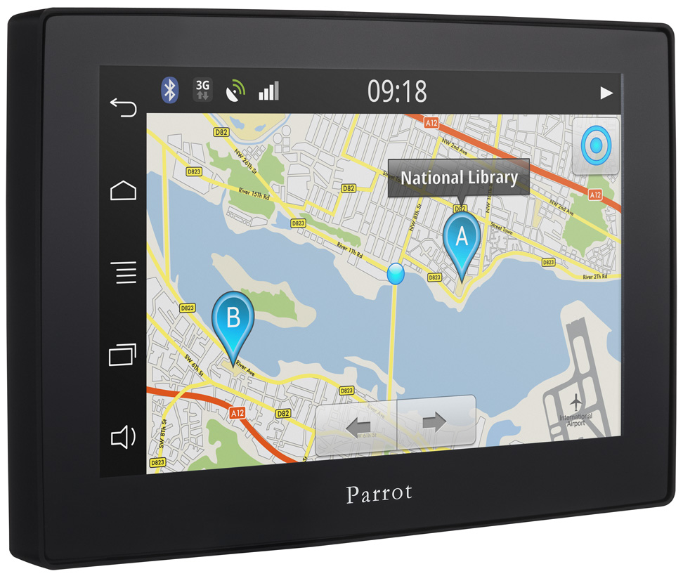 Parrot Asteroid Tablet Hands Free Uk